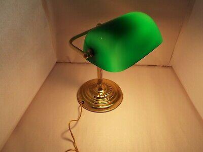 Green Bankers Desk Lamp V 3986, Underwriters Laboratories Lamp History