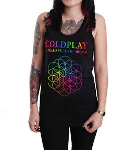 Tank Head Singlet Of A Dreams Unisex Vest T Full Coldplay Top Shirt byfI7vY6mg