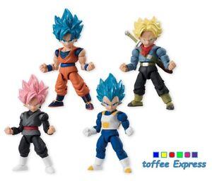 Dragon-Ball-Super-66-ACTION-figurine-whole-set-of-4-Son-Gokou-Vegata-trunks