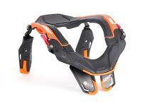 Leatt Snx Trophy Neck Brace Protection Snowmobile Snow Black Orange S/m L/xl X