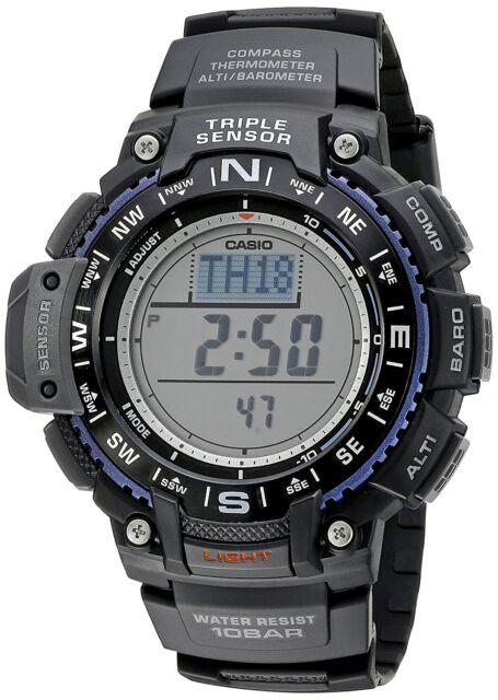 Casio Triple Sensor Mens Watch SGW-1000-1AER