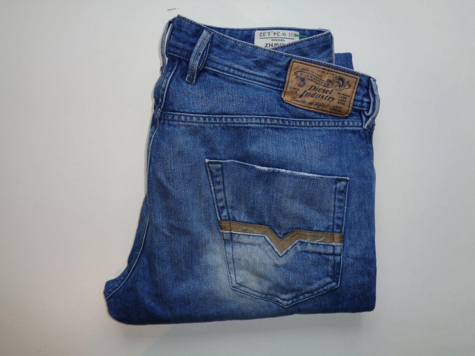 DIESEL zhavee 008XZ blu Jeans Girovita 34  X Gamba 32  da uomo