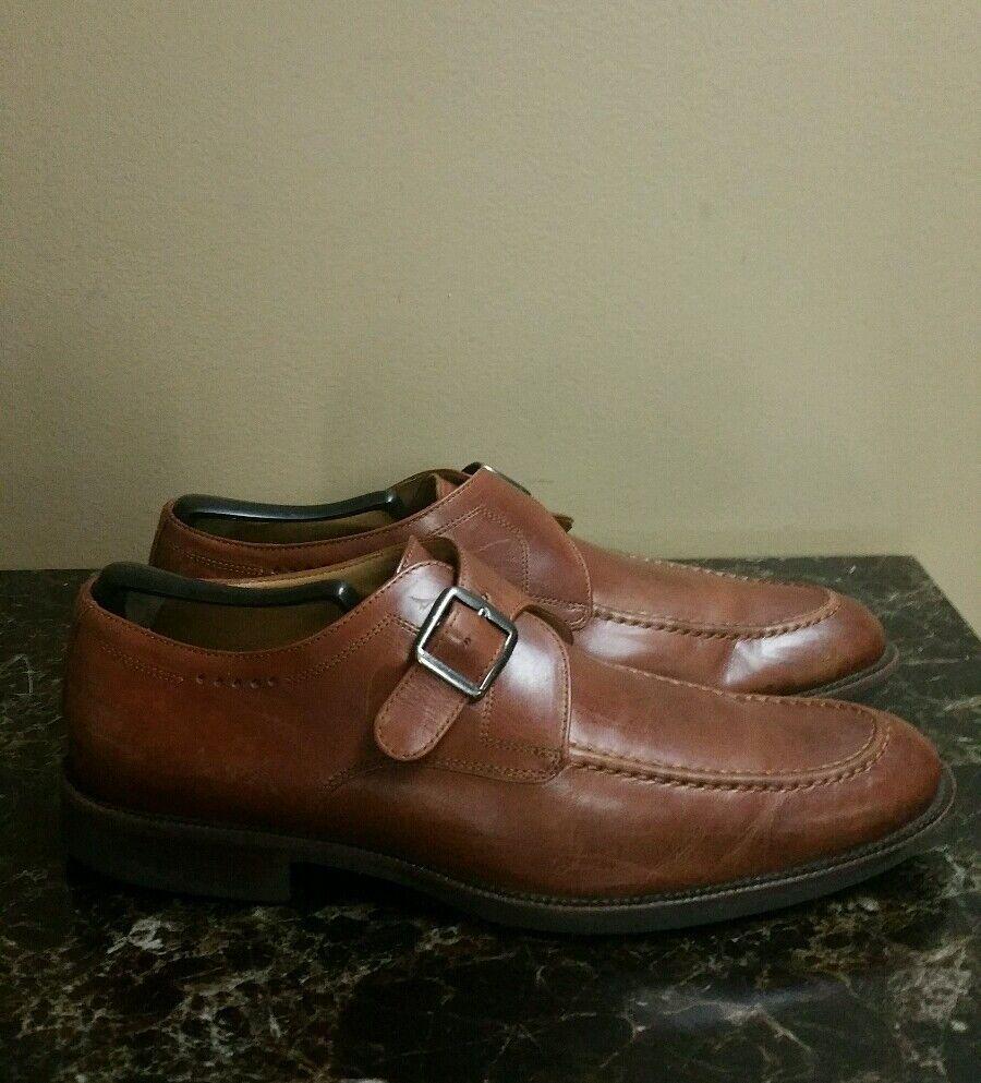 Johnston & Murphy Shoes Signature Series Tan Men's Shoes Murphy Size 9.5 M 260ebd