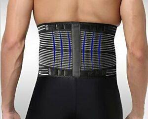 Neoprene-Deluxe-Belt-Pain-Relief-Double-Pull-Lumbar-Lower-Back-Support-Brace