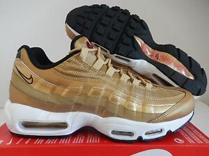 NIKE AIR MAX 95 PREMIUM QS METALLIC GOLD