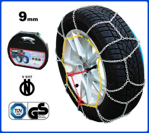 CATENE DA NEVE 9MM 225//50 R17 SEAT ALTEA XL 01//2006-/>12//10