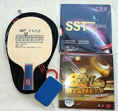 Custom-Made Table Tennis Bat OZ Seller Penhold Grip backhand strike practice