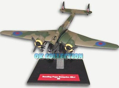 Airplane Military Bomber Handley Page Hampden 1//144 Scale