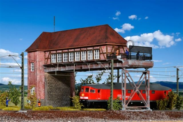 """9310 H0 Brückenstellwerk /"""" Hamm /"""" NEU /& OvP Kibri 39310"""