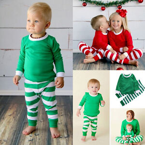 image is loading 2pcs toddler kids baby boy girls striped outfits