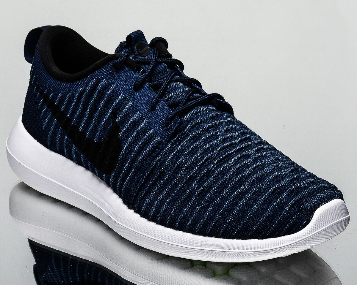 Nike Roshe Two Flyknit 2 men lifestyle sneakers NEW college navy 844833-400