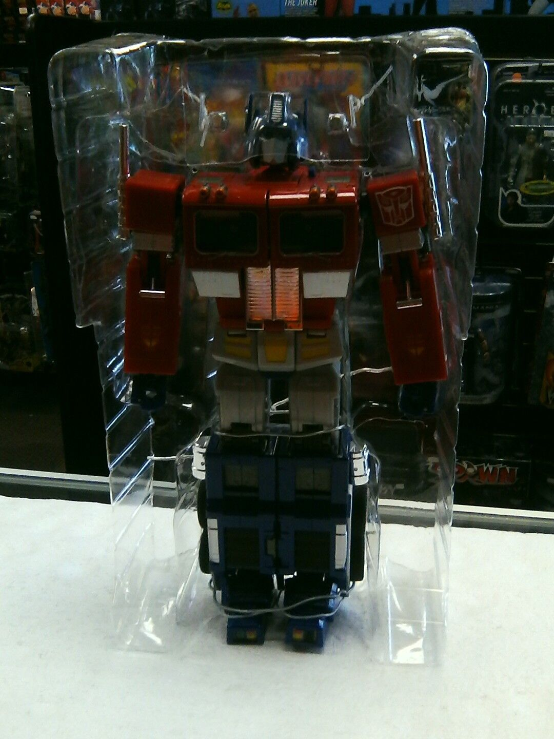 Takara Transformers MP-1 Optimus Prime Convoy Cyertron Commander