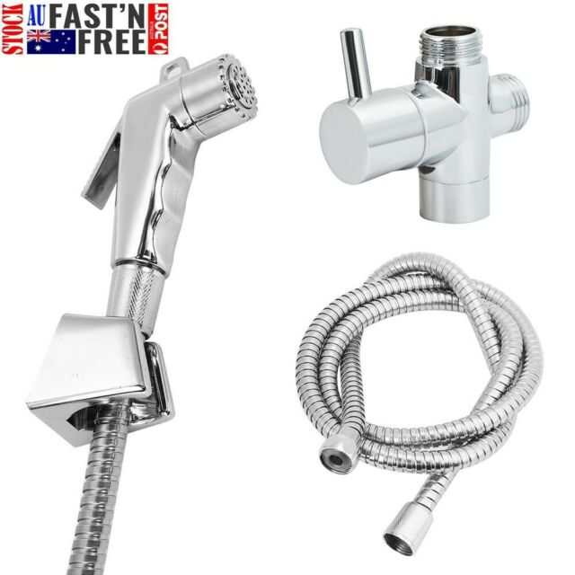 Hand Held Shower Head Douche Toilet Bidet Spray Wash Jet Shattaf Diverter Set AU