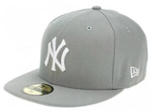 Caricamento dell immagine in corso New-Era-Nuovo-York-Yankees-Cap-Grigio- 59fifty- ea33c046b6fa