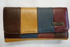 Ladies-Leather-Purse-Wallet-Double-Sided-with-Flap-Large-RFID-Protected
