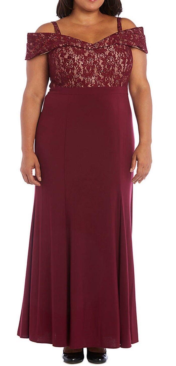 R & M richards womens 16W plus size dress dress dress wedding prom event bridesmaid  160 0e8269