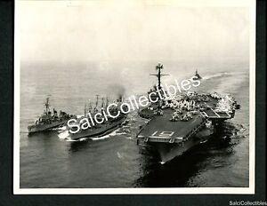 WWII US Navy Fleet Oiler Ship Photograph USS AO 22 Cimarron