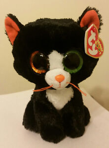Ty Beanie Boos ~ FRIGHTS the Cat (6 inch) NEW MWMT