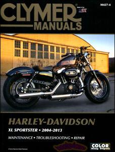 harley davidson xl sportster shop manual service repair book clymer rh ebay com 2007 Harley-Davidson Sportster 1200 Bronze Custom Sportster Parts