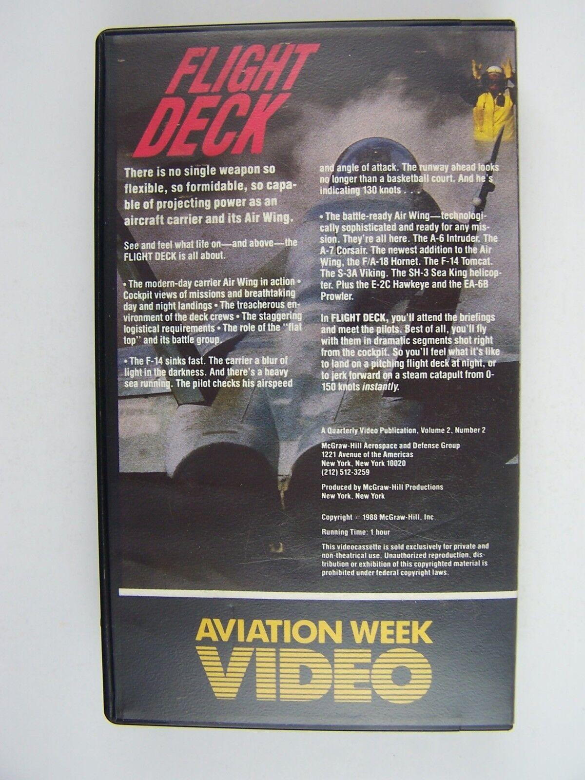 Flight Deck VHS Video Tape Vol 2 No 2