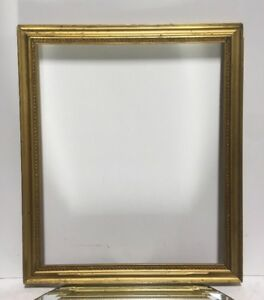 VTG-Aesthetic-Victorian-Wood-Gold-Gilt-Wood-Picture-Frame-Fits-11-1-4-034-x-13-1-2-034