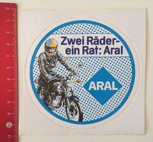 Details Zu Aufklebersticker Zwei Räder Ein Rat Aral 190516125