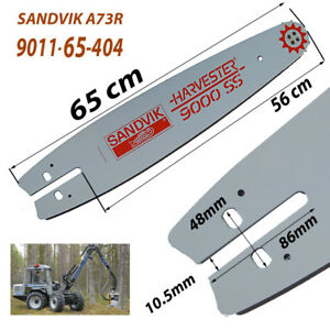 Details about Chain guide sandvik a73r 95 9011 64 404 harverster 9000ss  forest * 1- show original title