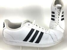 Size 11.5 - adidas Cloudfoam Advantage White Black - AW4294