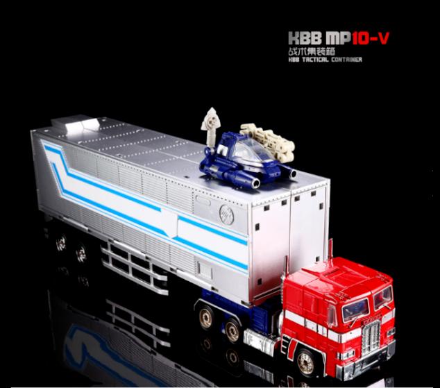 NUOVO , MP - 10 V ( combinazione ) OPTIMUS PRIME è fatto di giocattoli IN LEGA PER AUTO