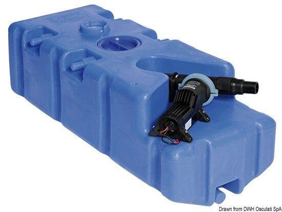 Tanque de aguas residuales integradas Ballena heces-succión - Bomba + zerhacker,