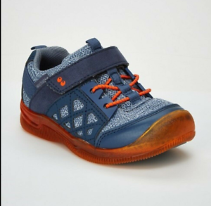 Boys/' Surprize by Stride Rite Casey Light-Up Athletic Sneakers Navy