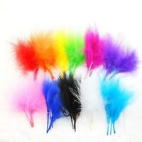 10 x Fluffy Feathers Arts Crafts Scrapbooking Card Making Embellishments