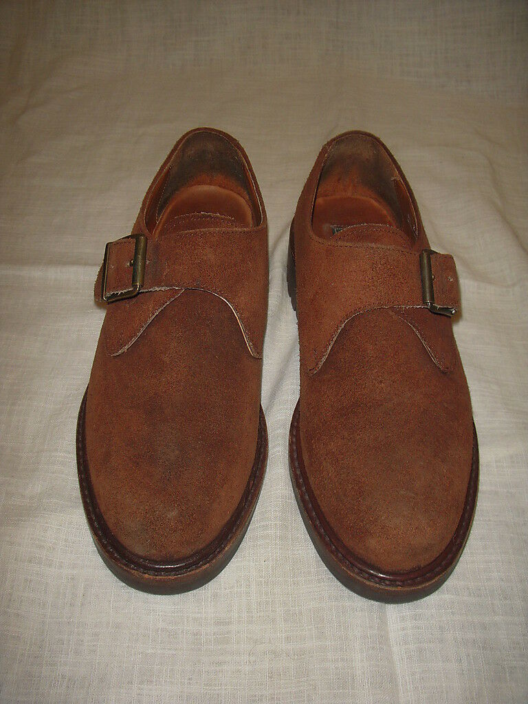 POLO COUNTRY RALPH LAUREN SUEDE WOMEN SHOES SIZE 7.5B