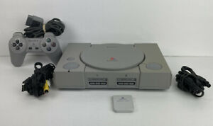 Sony PlayStation SCPH-5501 Console Bundle - CLEANED & TESTED