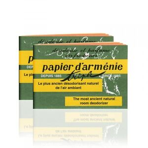 papier d 39 armenie natural room deodorizer incense paper. Black Bedroom Furniture Sets. Home Design Ideas