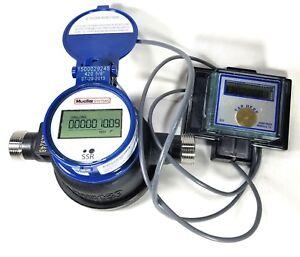 Mueller-5-8-x-3-4-Digital-Encoder-Water-Meter-US-Gallons-With-REMOTE-Display