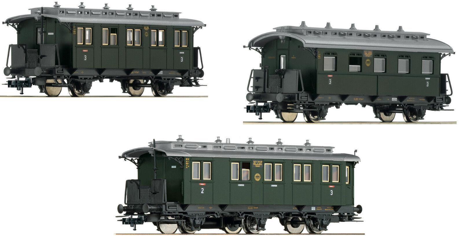Fleischuomon h0 h0 h0 481804 - 3 Pezzi Set  accanto a Bahn-treno  (parte 1), DRG Merce Nuova 7d40f3