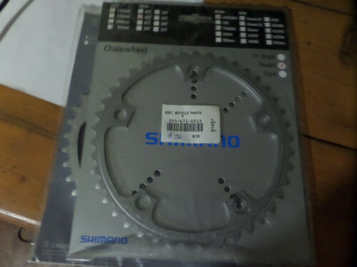 NOS Shimano Ultegra FC-6500 42T 130mm 5-bolt 9-speed A-type chainring