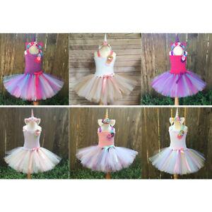 Girls Dance Tulle Tutu Skirt UK 3-8 Years,Toddler Baby Summer Princess Ballet Dresses Sundress Party Fancy Dress up Dresses for Girl Clothes Dance Skirt Children Costume Gift