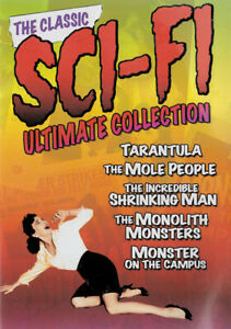 Classic-Sci-Fi-Ultimate-Collection-Tarantula-New-DVD