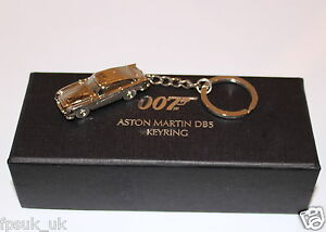 Official Skyfall Aston Martin Db5 Silver Metal Keyring James Bond