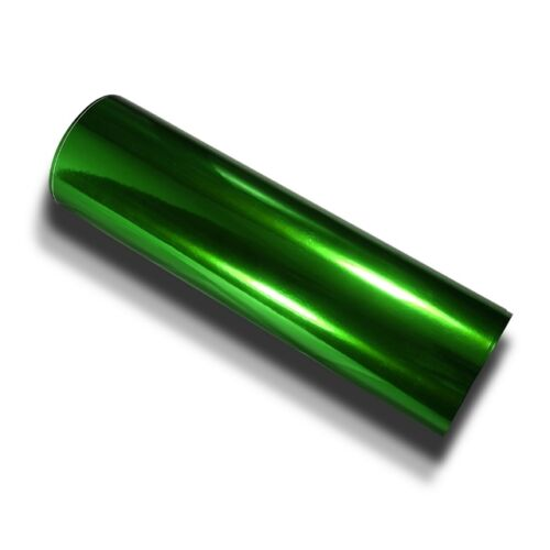 Grün Chrom Design Folie 152 cm x 900 cm hochglänzend mit Luftkanäle