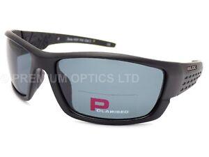 366cbbaaed2 BLOC polarized DELTA Sunglasses Matte Black   Dark Grey Polar Lenses ...