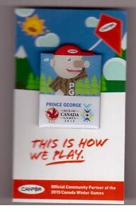 CANFOR-MR-PG-2015-Prince-George-Canada-Winter-Games-Promo-Pin-15-CWG-Mascot
