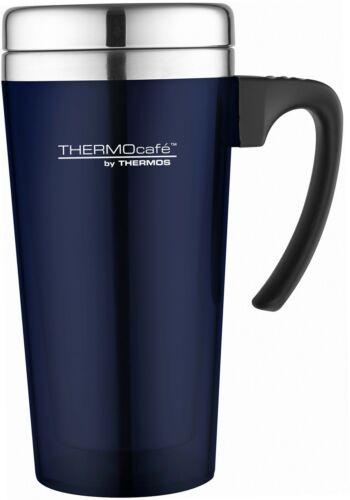 weicher Griff ThermoCafé Thermobecher Kunststoff und Edelstahl 420ml,...