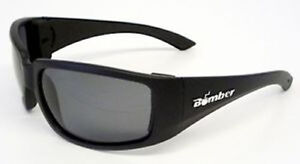 Bomber Floating Eyewear Tinted Safety Glasses MatteBlack/Smo<wbr/>ke Stink-Bomb #ST103