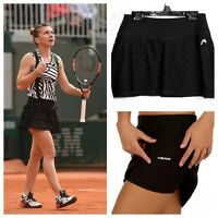 $45 Head Women's 4-way Stretch Tennis/golf Skirt/skort, Black, Xs