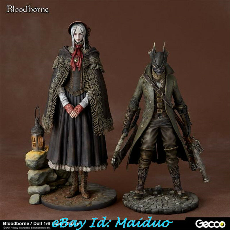 1 6 Scale Bloodborne Doll Hunter Statue Figure Collections Model GK 13''H
