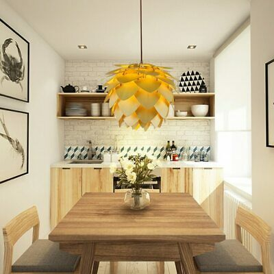 Pinecone Pendant Light Wooden Style Ceiling Lighting For Home Office Business Ebay