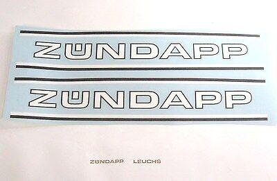 Zündapp Aufkleber Sickentank Kurzsicke Transparent C 50 Sport Typ 529